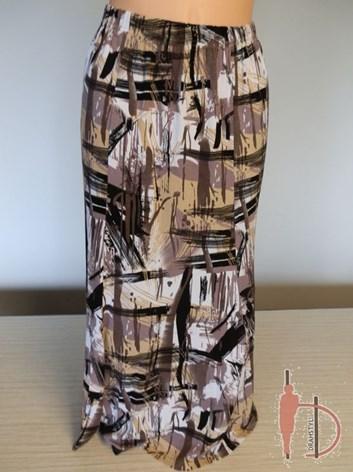 Zvonová dílová sukně velká velikost SADAA    xxl, xxxxl