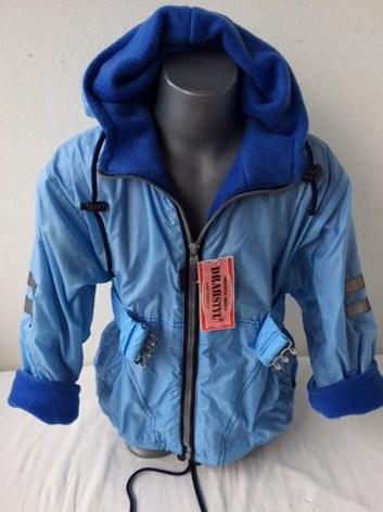 Podzimní dívčí bunda-kabát