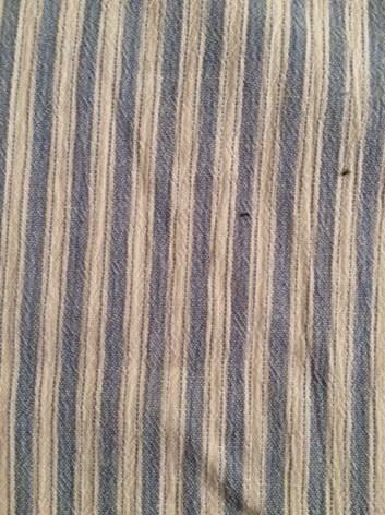 Bavlněná látka proužek- metráž à 10 cm