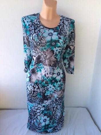 Úpletové  podzimní šaty ALBÍNA