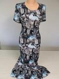 Letní šaty s potiskem Benátek