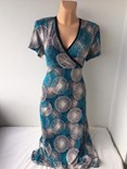 Letní šaty XOPLA s překřížením na prsou