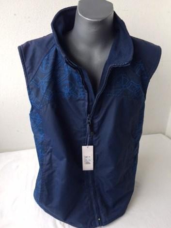 Modrá dětská vesta WOLF 122