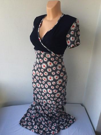 Kombinované šaty WANDA