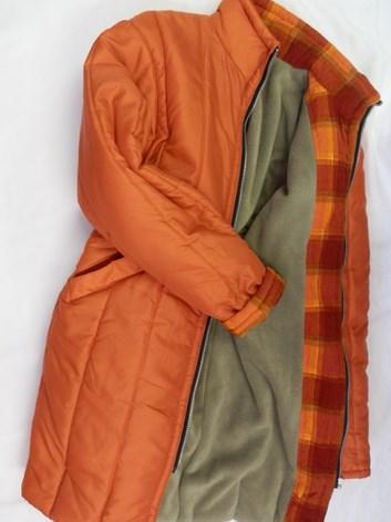 Zimní dlouhá bunda, kabát LÁJA 40,42