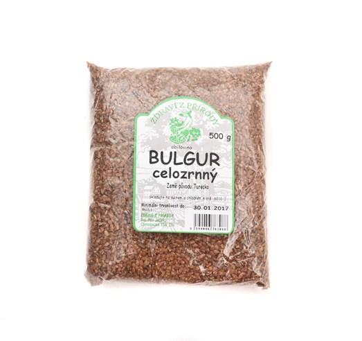 Bulgur celozrnný