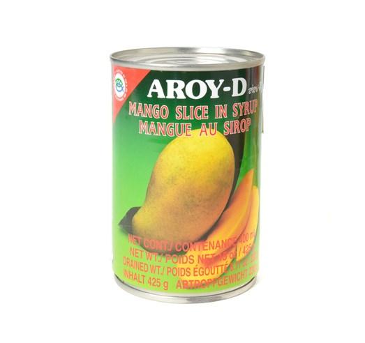 Mango v sirupu