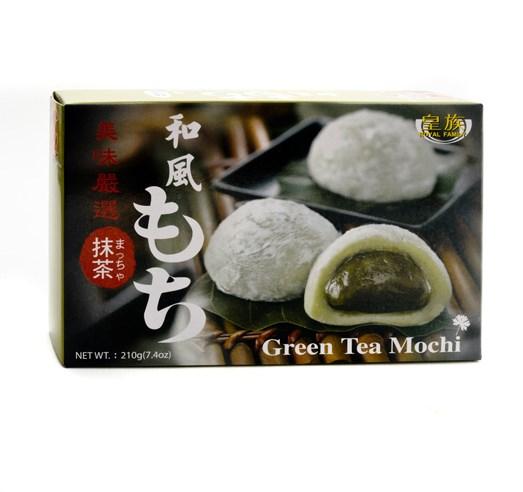 Mochi se zeleným čajem