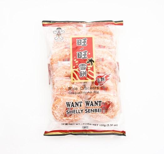 Rýžové krekry pálivé