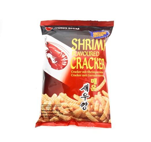 Krevetové chipsy pálivé