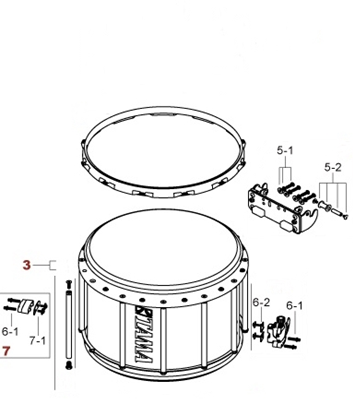 Náhradní díly pro bicí