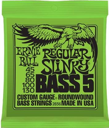 Ernie Ball 2836 baskytara 45/130