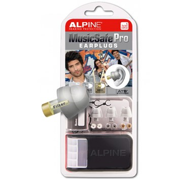 Alpine Music Safe Pro TRANSPARENT- špunty do uší