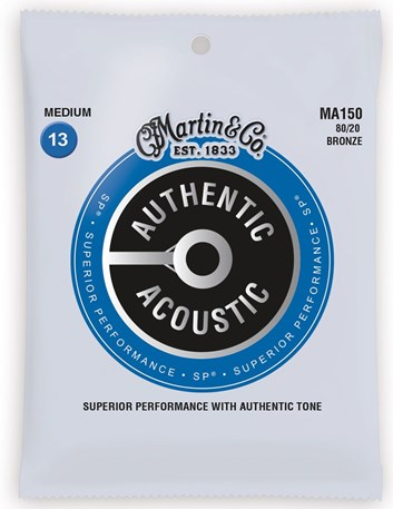 Martin Authentic MA150 struny .013