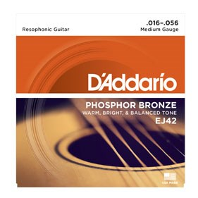 D´Addario EJ42 resophonická kytara