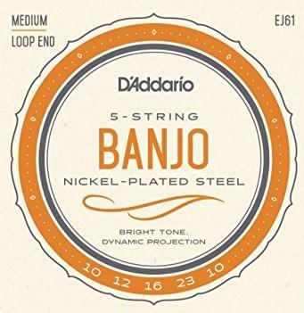 D´Addario EJ61 banjo