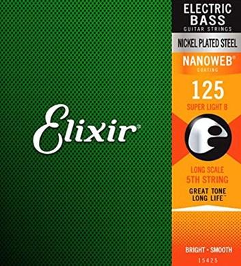 Elixir basová struna .125