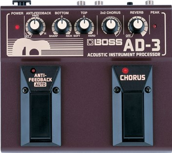 Boss AD3 Accoustic Simulator