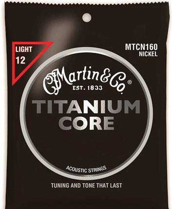 Martin Titanium Core Light .012