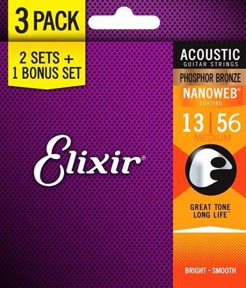 Elixir Bonus Pack PB 13/56 (2+1)