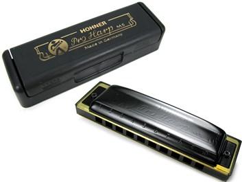 Hohner Pro Harp harmonika Bb dur