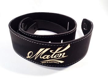 Maton Soft Sueded Strap Black