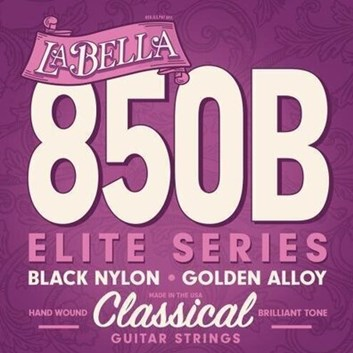 La Bella 850 Black Nylon