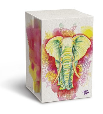 Carton Cajon - Elephant