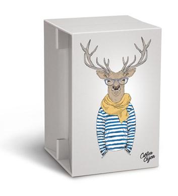 Carton Cajon - Deer Hipster