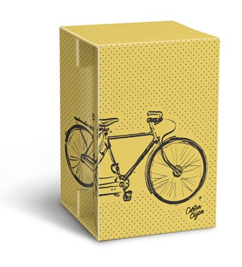 Carton Cajon - Double Bike Yellow