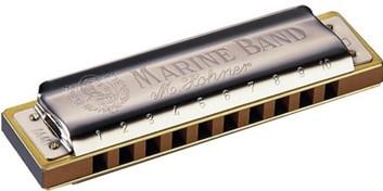 Hohner Marine Band harmonika G dur