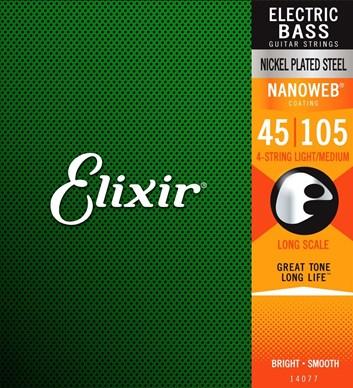 Elixir baskytara 45/105
