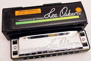 Lee Oskar 1910 harmonika Low-D dur