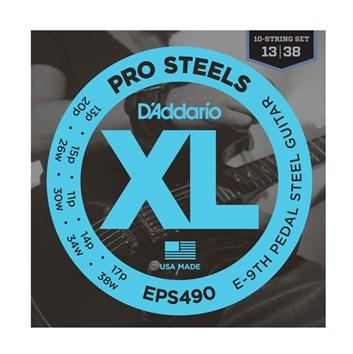 D´Addario EPS490 struny pedal steel E9