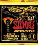 Ernie Ball 2154 Coated Titanium 13/56