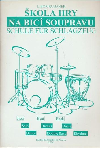 Libor Kubánek - Škola hry na bicí soupravu