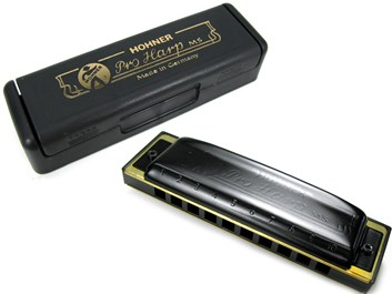 Hohner Pro Harp harmonika A dur