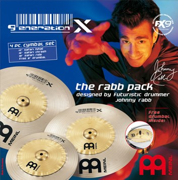 Meinl The Rabb Pack sada činelů