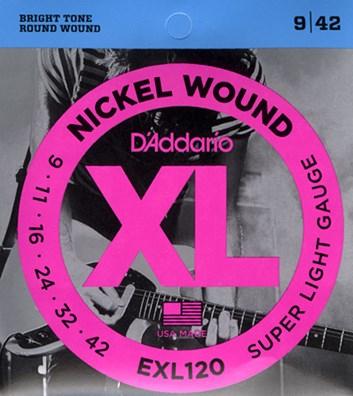 D´Addario EXL120 el.9/42