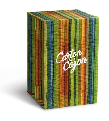 Carton Cajon - Happy Stripes