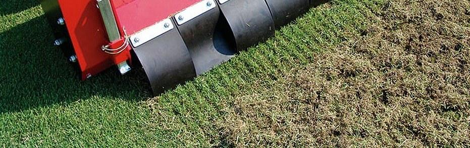 Jarní regenerace trávníku