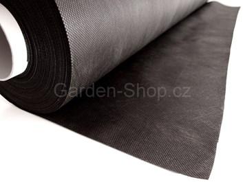 Netkaná mulčovací textilie černá 50 g/m2  1,6 m