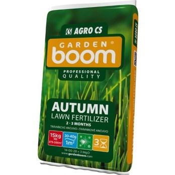 AGRO Garden Boom AUTUMN podzimní trávníkové hnojivo 15 kg