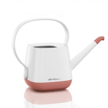 Lechuza YULA Watering Can White/Pearl Rose