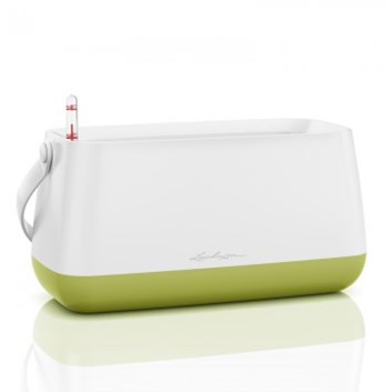 Lechuza YULA Plant Bag White/Green