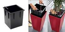 Lechuza Planter Liner Cubico 22 - Outside/Inside