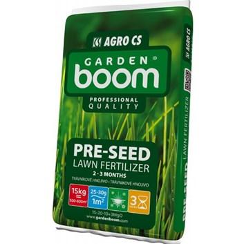 AGRO Garden Boom PRE-SEED předseťové trávníkové hnojivo 15 kg