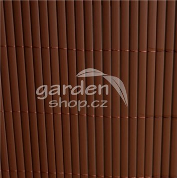 Bambusová rohož BAMBOO MAT  2 x 3 m - hnědá barva