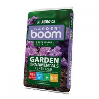 AGRO Garden Boom ORNAMENTAL hnojivo pro okrasné keře a trvalky 15 kg