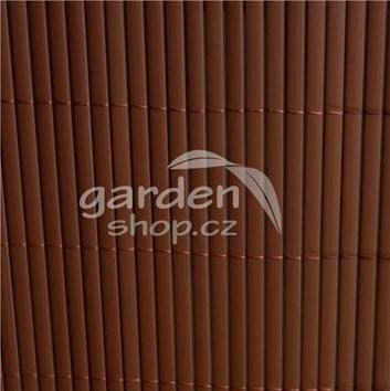 Bambusová rohož BAMBOO MAT  1 x 3 m - hnědá barva